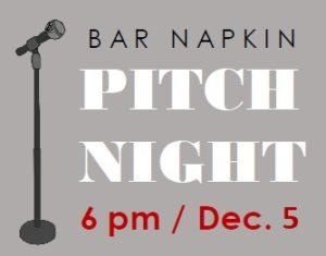 bar napkin pitch image