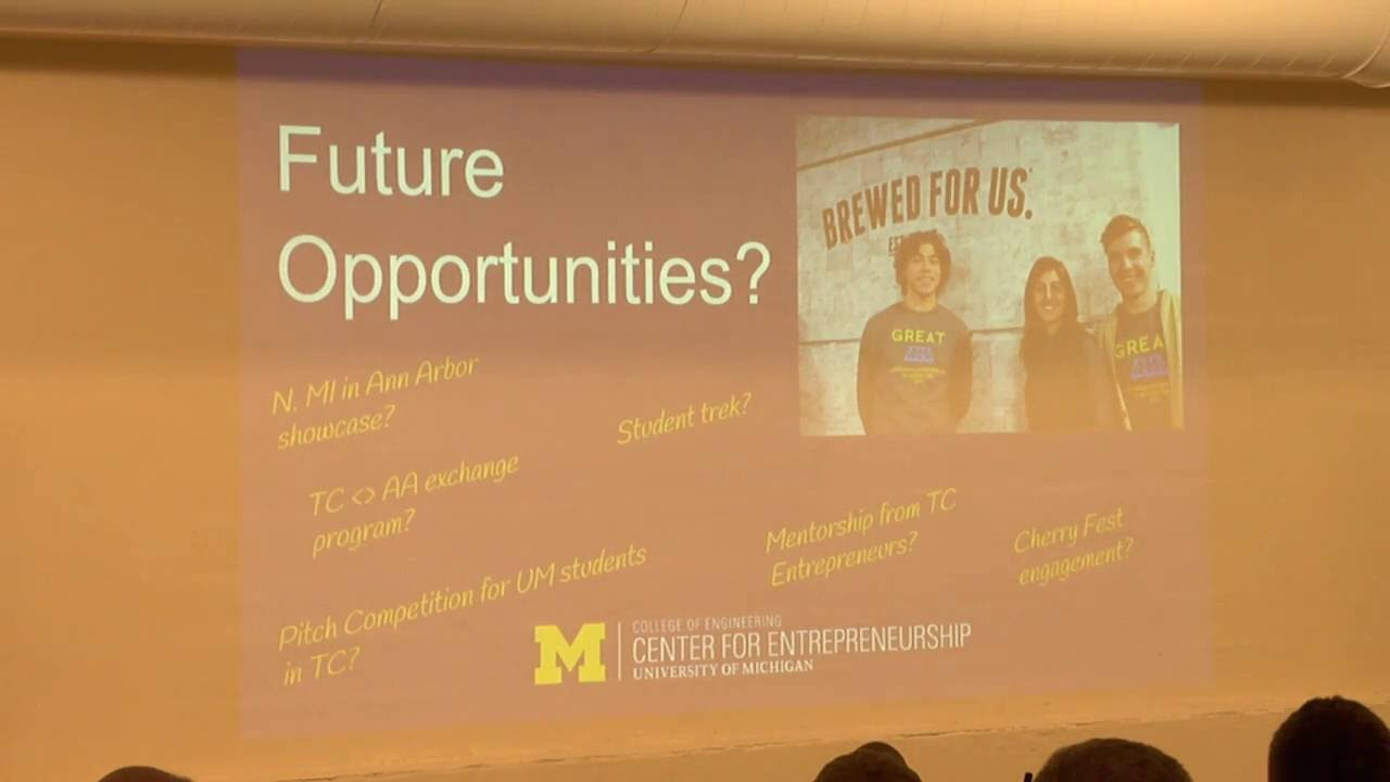 U of M, Center for Entrepreneurship – June 2016