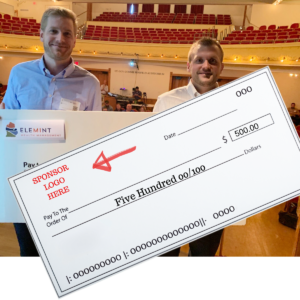 Pitch Prize Sponsor Big Check