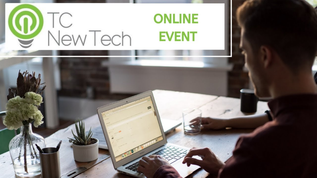 Watching TCNewTech Online Event