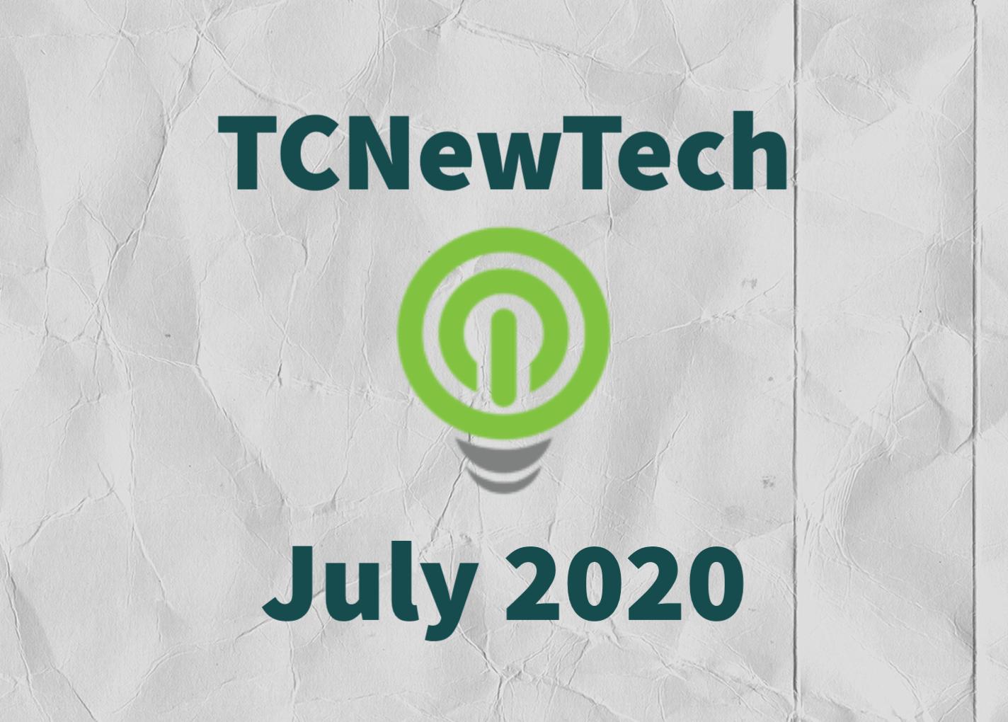 TCNewTech Pitch Contest July 2020