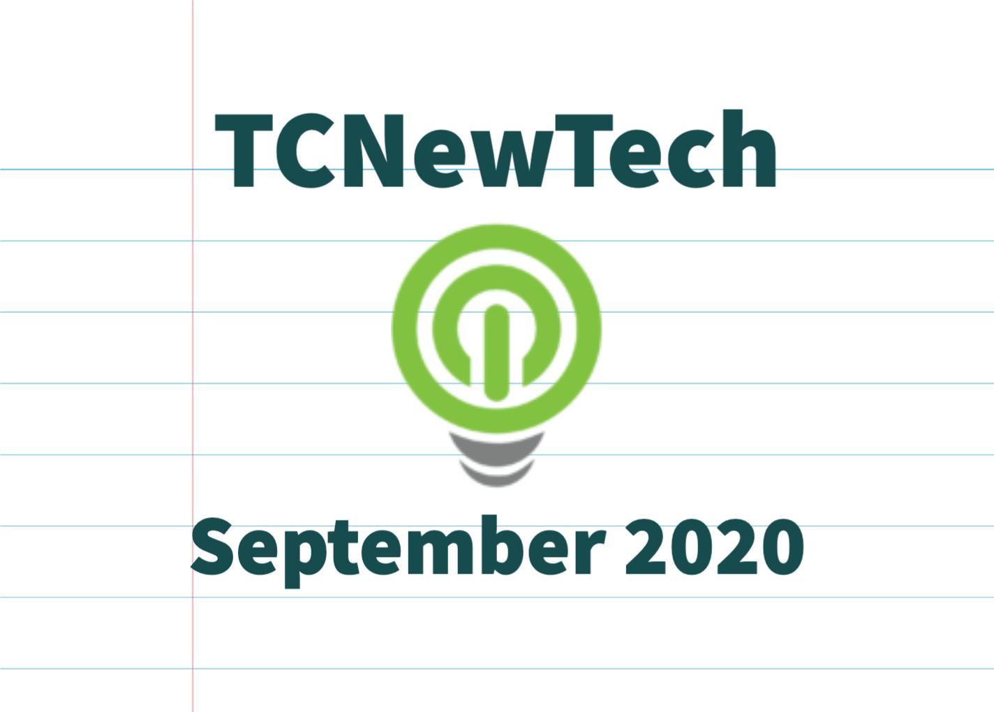 TCNewTech Pitch Contest September 2020