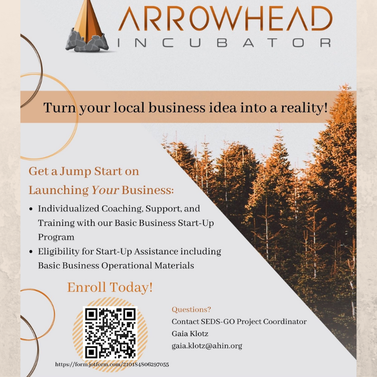 Arrowhead Incubator Start-up Program Information